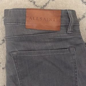 Great AllSaints grey jeans!